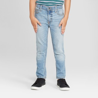 Cat & Jack Boys' Skinny Fit Jeans - Cat & JackTM Light
