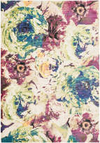"Loloi Rugs Loloi Madeline Collection Rug, Magenta and Multi, 5'2""x7'7"""