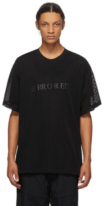 Julius Black Mesh Layer T-Shirt