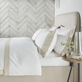 The White Company Portobello Linen Duvet Cover - Single , White Natural, Single