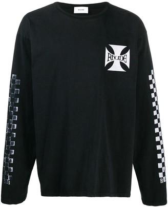 Rhude Chest Logo Sweatshirt