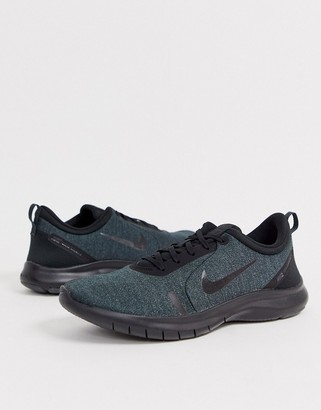 Nike Running Flex Experience RN8 sneakers in triple black