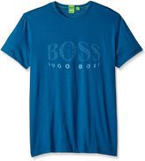 HUGO BOSS BOSS Green Men's Tee6 Curved Logo T-Shirt