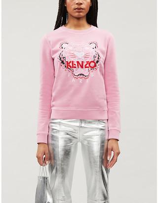 Kenzo Tiger cotton-jersey sweatshirt