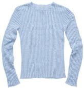 Faherty Shell Stitch Crew Sweater