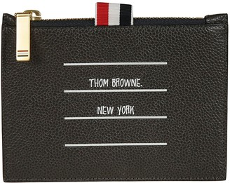 Thom Browne Logo Coin Purse