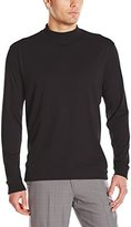 Cutter & Buck Men's Long Sleeve Pima Belfair Mock Tee