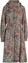 Jil Sander Navy Printed Coat