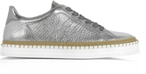 Hogan R260 Metallic Leather Low Top Women's Sneakers