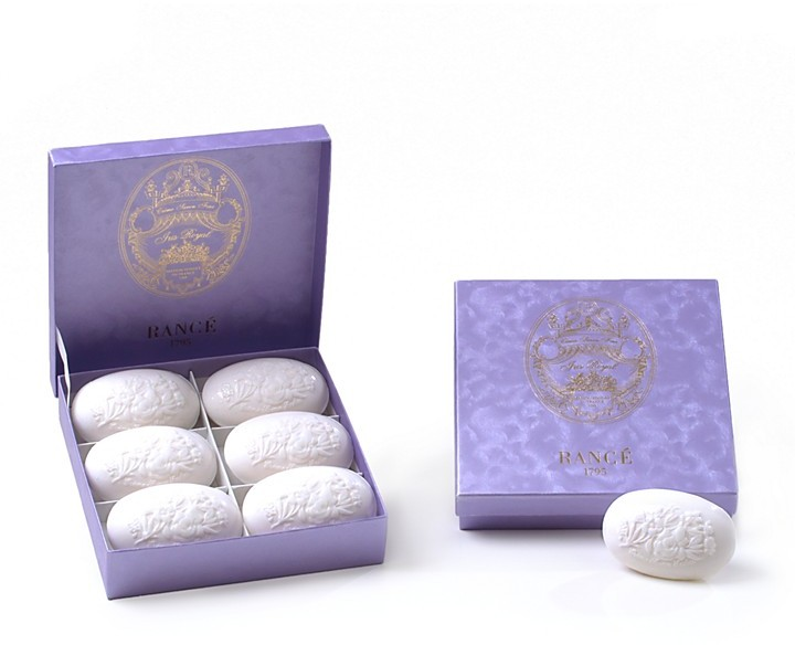 Rance 1795 Luxury Soap Box Iris Royal Collection