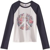 Billabong Girls' Via Rosa Long Sleeve Rashguard (Little Kid, Big Kid) 8167454