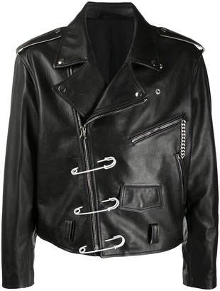 Raf Simons Oversized Clip Biker Jacket