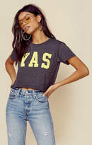 Wildfox Couture yas crop tee