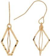 Candela 14K Yellow Gold Double Open Marquis Dangle Earrings