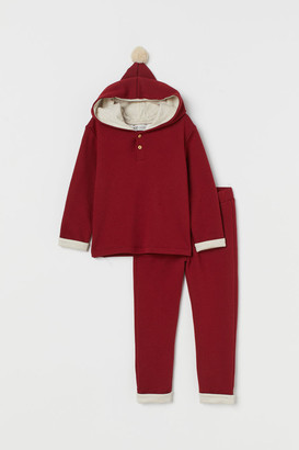 H&M Sweater and Pants - Red