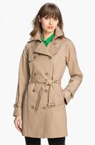 Calvin Klein 'Legacy' Poplin Trench Coat (Online Only)