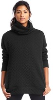 Gap Jacquard funnel neck pullover