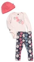 Tea Collection Infant Girl's Bodysuit, Leggings & Hat Set
