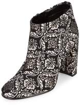 Sam Edelman Women's Cambell Floral Leather Booties