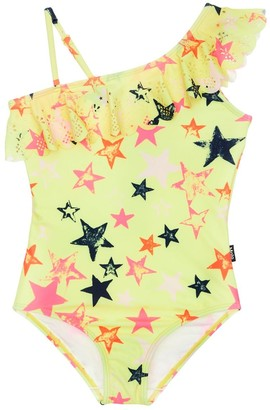 Molo Star Print One Piece Swimsuit