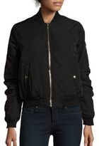 Romeo & Juliet Couture Quilted Bomber Jacket