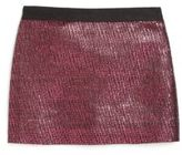 Milly Little Girl's Metallic Jacquard Skirt