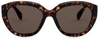 Prada 56MM Cat Eye Sunglasses