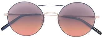 Oliver Peoples 'Nickol' round frame sunglasses