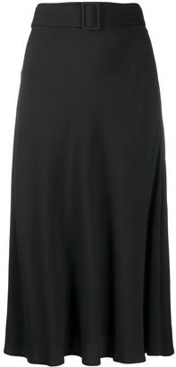 MSGM Flared Hem Mid-Length Skirt