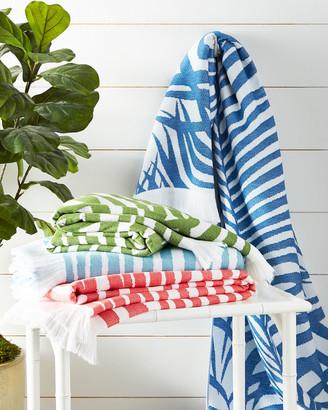 Matouk Zebra Palm Beach Towel