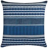 The Piper Collection Carlisle 22x22 Linen Pillow - Indigo