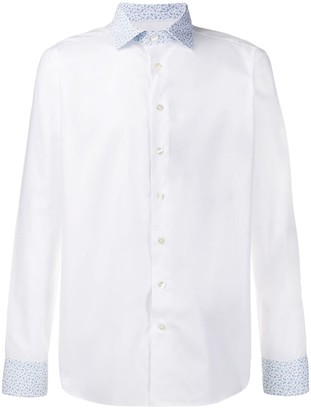 Etro Paisley Collar Shirt
