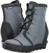 Sorel Joan Rain Wedge Felt Women's Waterproof Boots