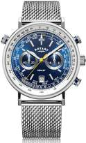 Rotary Watches Rotary Mens Silver Henley Watch
