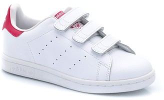 adidas Stan Smith Kids CF C Touch 'n' Close Leather Trainers