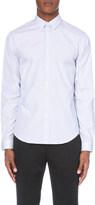 Sandro Slim-fit striped cotton shirt