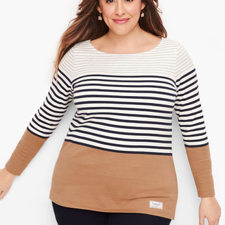 Talbots Authentic Tee - Randall Stripe