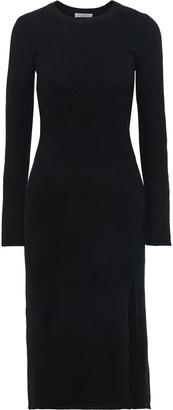Equipment Etyenne Brushed Wool-blend Midi Dress