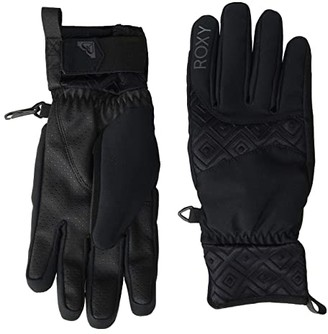Roxy Big Bear Snow Gloves (True Black) Ski Gloves