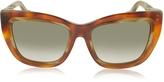 Balenciaga BA0027 Acetate Square Women's Sunglasses