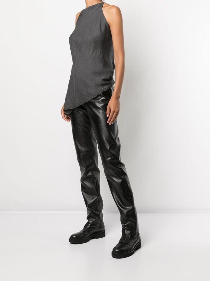 Thumbnail for your product : Marc Le Bihan Asymmetric Silk Top