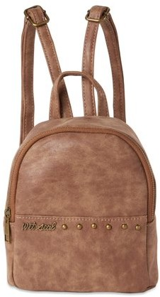Wet Seal Studded Mini Backpack