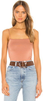 Enza Costa Strappy Bodysuit