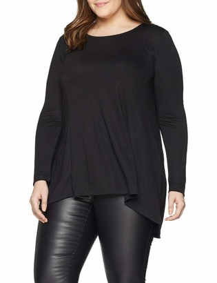 Simply Be Women's Plain Dip Back Tunic T-Shirt