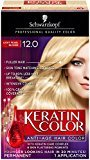 Schwarzkopf Keratin Hair Color, Light Pearl Blonde 12.0, 2.03 Ounce