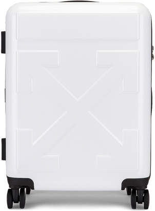 Off-White Off White Arrow Trolley Luggage in White | FWRD