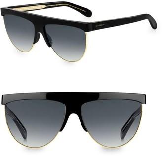 Givenchy 7118/G/S 62MM Palladium Shield Sunglasses