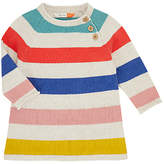 John Lewis Stripe Knit Dress, Multi
