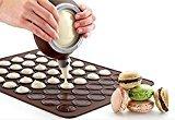 Pinovk Macarons/muffins Baking Set Silicone Baking Pastry Sheet Mat Cup Decorating Cake Cookie Non-Stick Kit