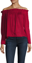Lucca Couture Women's Off Shoulder Blouse